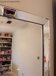 Floor To Ceiling Mirror by How To Hang A Heavy Full Length Leaner Mirror On The Wall