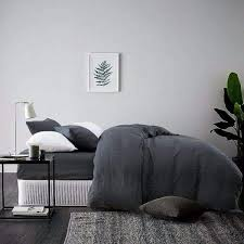 5 piece simple bed in a bag made from organic belgian linen mix