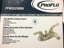 proflo kitchen faucet pro flo faucet reviews faucets ideas