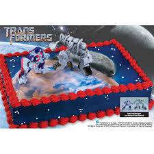 optimus prime cake pan bakery crafts transformers cake kit