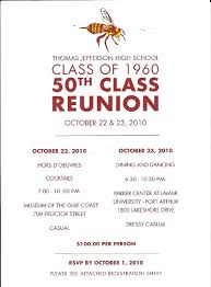 50th high school class reunion invitation invitation