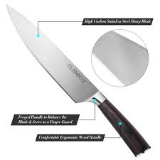 restaurant kitchen knives chef knife cusibox 8 inch kitchen knife with high carbon stainless