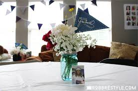 easy graduation centerpieces diy graduation party ideas robb restyle