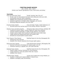 Examples Of Teacher Assistant Resumes by Resume For Nursery Teacher Free Resume Example And