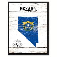 nevada state home decor office wall art decoration bedroom