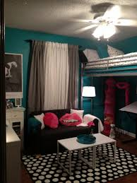 Teenage Room Teen Room Tween Room Bedroom Idea Loft Bed Black And White