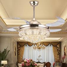 Chandelier Ceiling Fans With Lights Chandelier Ceiling Fan Combo Dining Room Cintascorner
