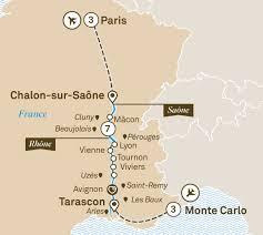 Monte Carlo Map Enchanting Rhône With Monte Carlo U0026 Paris River Cruises Europe