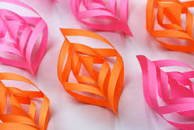 diy paper ornaments how about orange
