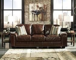 canapé en cuir marron maison comment nettoyer canapé cuir canapé 3 places marron coussins