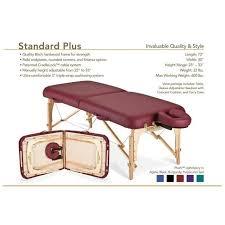 stronglite standard plus massage table standard plus massage table package by stronglite