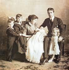 gustav and margaret with their children sweden pinterest