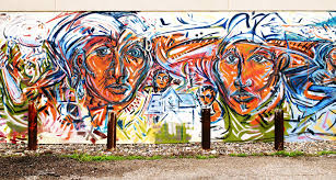 with sweeping array of murals mpls is a living changing art an unknown artist painted the mural at 3013 2nd av s