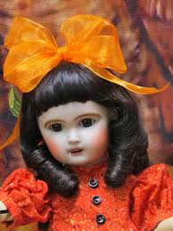halloween doll wig human hair doll wigs sale realistic lace front wig