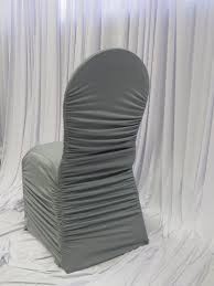 silver chair covers chair covers gallery luxe event linen