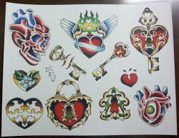 traditional tattoo flash pictures to pin on pinterest tattooskid