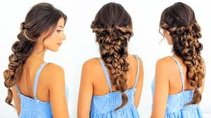 how to make bridal hairstyle how to mermaid braid hair tutorial luxy hair youtube
