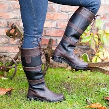 womens yard boots womens pony walking country outdoor stable yard