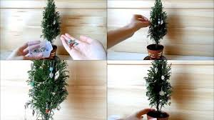 decorating a mini tree diy tiny ornaments by