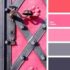 Pink Color Scheme Pink And Black Color Palette Ideas
