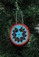 american indian motif tree ornaments rustic
