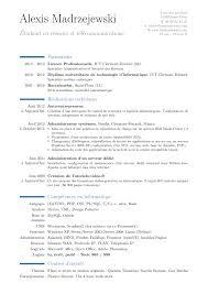 curriculum vitae latex template moderncv tutorial how to put resume on word asphalt paving resume exles of