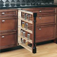 kitchen pull out spice rack pan organizer rack kitchen