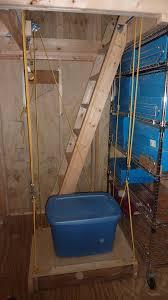 an elevator for my 10 u0027x12 u0027 storage shed storage garage ideas
