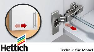 Soft Closing Kitchen Cabinet Hinges by Adjusting Cup Hinges And Doors Do It Yourself With Hettich Youtube