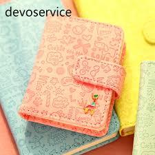 giraffe pattern notebook cute kawaii pu leather notebook cartoon giraffe journal diary
