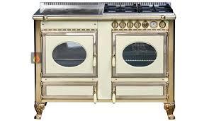 piano de cuisine induction piano de cuisson bois gaz et électrique 120cm avec 1 four et une