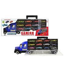 camion porta auto camion trasporto auto con 12 auto incluse mazzeo giocattoli