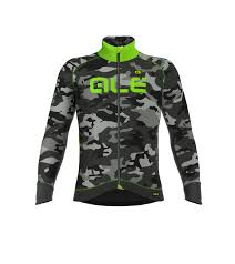 winter cycling jacket camo men winter jacket alé cycling