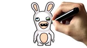 chris dessine un lapin crétin tutoriel youtube