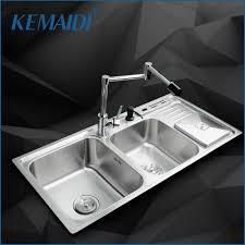 Online Get Cheap Stainless Steel Double Sink Undermount - Kitchen stainless steel sink