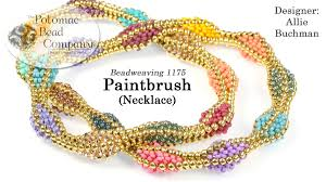 necklace patterns images Beadweaving 1175 paintbrush necklace pattern jpg