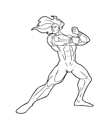 bodybuilder printable coloring pages
