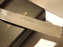 Case Kitchen Knives Vintage New Old Stock Antler Handle Carving Set By Case Xx From