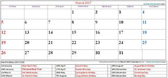 march 2017 calendar editable