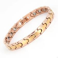 magnetic bracelet gold plated images Latest design magnetic 99 999 germanium rose gold 22k gold plated jpg