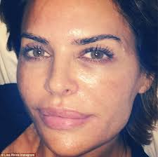 what skincare does lisa rimma use lisa rinna boasts about results of advanced facial daily mail online