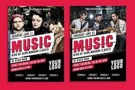 music flyer templates memberpro co