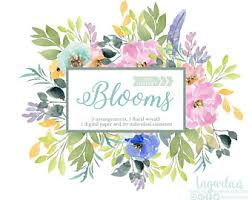 wedding flowers png flower png etsy