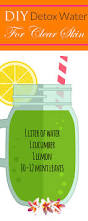 drink your way to clear glowing skin water recipes clear skin