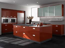 Gloss Kitchen Cabinets by Contemporary Bishop Cabinets