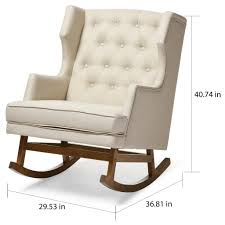 fabric chair covers stupendous beautiful rocking armchair contemporary light beige