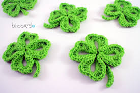 crochet four leaf clover free pattern u0026 video tutorial b