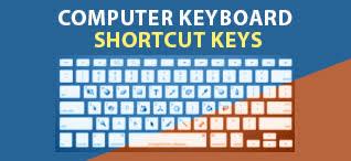 computer keyboard shortcut keys windows hotkey ms word and excel