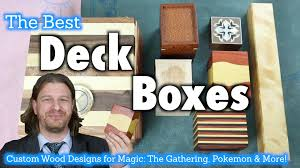mtg deck boxes 16 a review of custom wooden deck boxes for