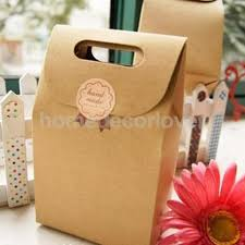 aliexpress com buy 5x craft brown paper bags party favor bags